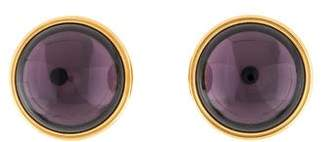 Lalique Crystal Clip-On Earrings