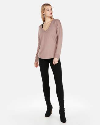 Express One Eleven V-Neck London Sweatshirt
