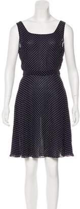 Ralph Lauren Purple Label Printed Sleeveless Dress