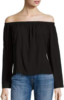 Bella Dahl Women's Long Sleeve Off-the-Shoulder Top