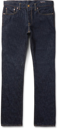 The Workers Club - Slim-Fit Selvedge Denim Jeans - Men - Blue