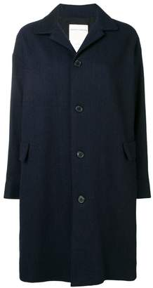 Stephan Schneider Bouffant single-breasted coat