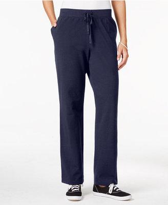 Karen Scott Drawstring Lounge Pants $17.98 thestylecure.com