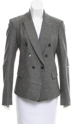 Michael Kors Double-Breasted Wool Blazer