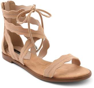 Kensie Suede Gladiator Sandals - Mandoline