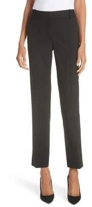 Theory Straight Leg Stretch Wool Trousers