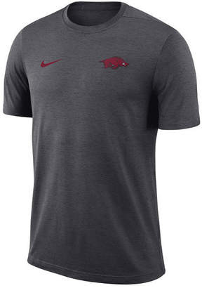 Nike Men's Arkansas Razorbacks Dri-Fit Coaches T-Shirt