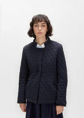 Casey Casey Quilted Double-Faced Jacket Navy