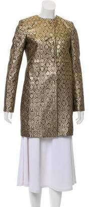 Les Copains Metallic Jacquard Jacket w/ Tags
