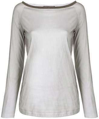 Fabiana Filippi slim-fit sweatshirt