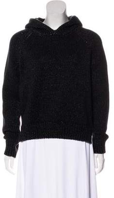 Alexander Wang Hooded Knit Sweatshirt