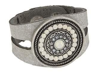 Leather Rock Bree Bracelet