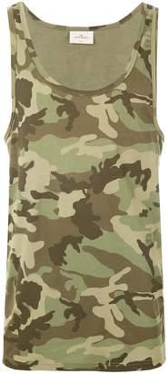 THE WHITE BRIEFS Rye camouflage tank