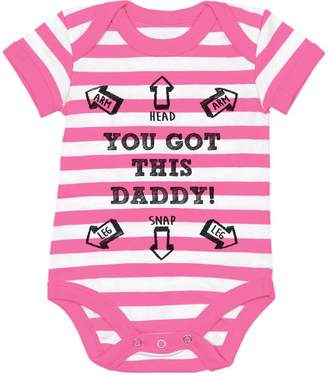 DAY Birger et Mikkelsen TeeStars - You Got This Daddy Funny Bodysuit Father's Gift Cute Baby Onesie 6M
