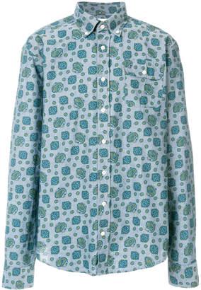 Gant paisley chambray shirt