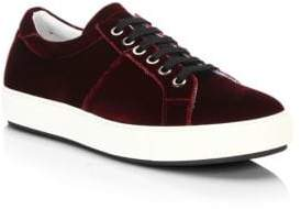 Madison Supply Velvet Low-Top Sneakers