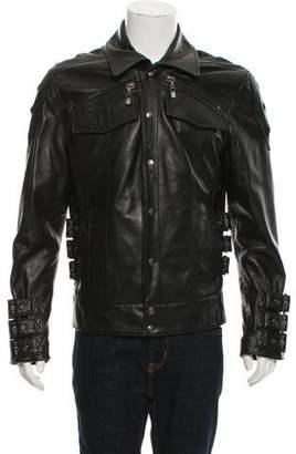 Schott Elasticized Motorcycle Jacket