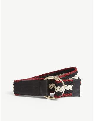 Claudie Pierlot Woven striped belt
