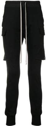 Rick Owens cargo layered jogging trousers