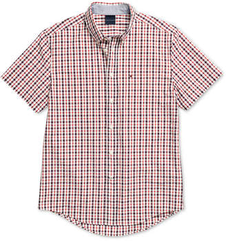 Tommy Hilfiger Adaptive Men Widmore Check Shirt with Magnetic Closures