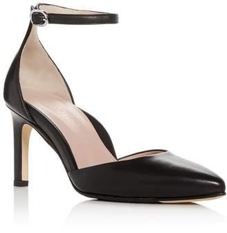 Taryn Rose Women's Graziella Leather Pointed Toe Pumps cfdSsmTeZU