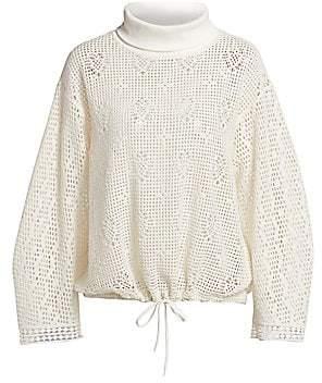 See by Chloe Women's Lacey Jersey Sweatshirt