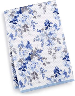 "Martha Stewart Collection Closeout! Collection Texture Bouquet 30"" x 54"" Bath Towel"