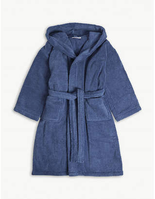 The Little White Company Hydrocotton dressing gown 5-12 years