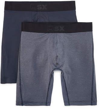 MSX BY MICHAEL STRAHAN MSX by Michael Strahan 2-pk. Performance Long Leg Boxer Briefs - Big & Tall