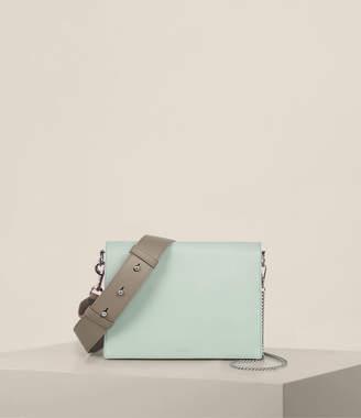 AllSaints Zep Leather Multi Box Bag