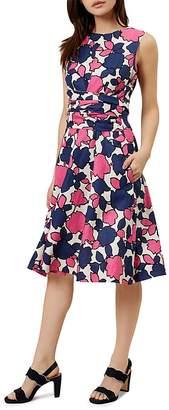 HOBBS LONDON Colwyn Twitchill Linen Dress $250 thestylecure.com
