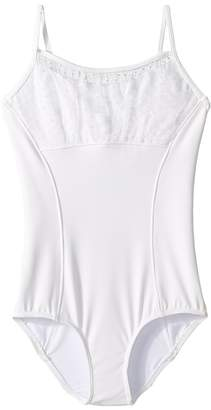 Bloch Bow Mesh Camisole Leotard Girl's Jumpsuit & Rompers One Piece