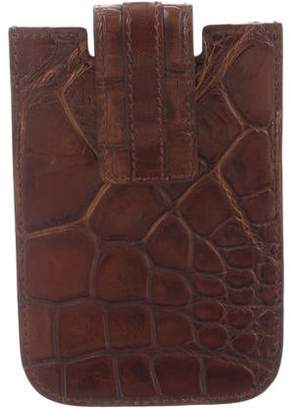 Gucci Alligator Cell Phone Case