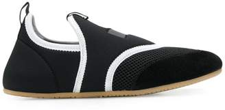 Isabel Marant mesh panel slip-on sneakers