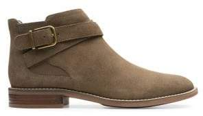 Clarks Camzin Hale Ankle Suede Booties