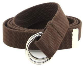 6a1085cc971 BC Belts Thin Web Belt Double D-Ring Buckle 1.25
