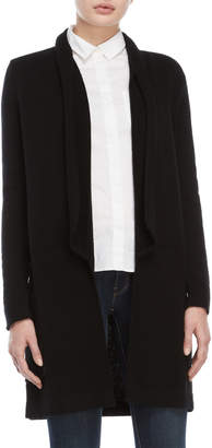 Qi Wool Open Duster Cardigan