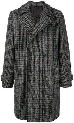 Stella McCartney double breasted checked coat