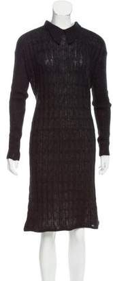 Missoni Cable Knit Mohair Dress