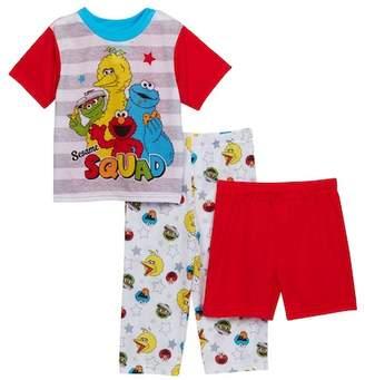 Sesame Street Squad 3-Piece PJ Set (Toddler Boys)