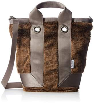 Briefing (ブリーフィング) - [ブリーフィング] トートバッグ ETHICAL FUR TOTE S BRL541219 020 CHOCO