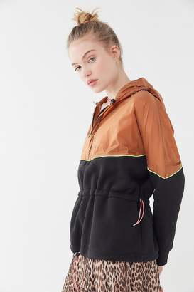 Out From Under Hallie Colorblock Hooded Popover Jacket