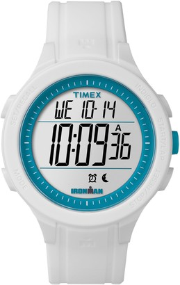 Timex Unisex Ironman White Silicone ChronographDigital Watch