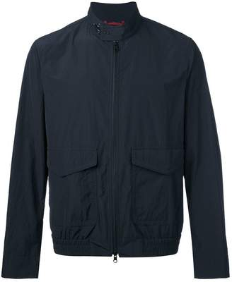 Fay zipped lightweight jacket