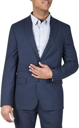 Kenneth Cole Reaction Muted Plaid Suit Jacket