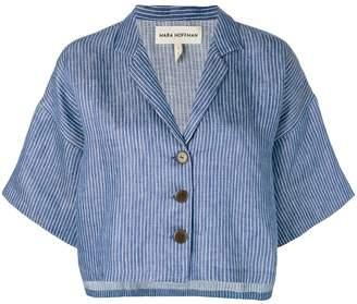 Mara Hoffman striped button jacket
