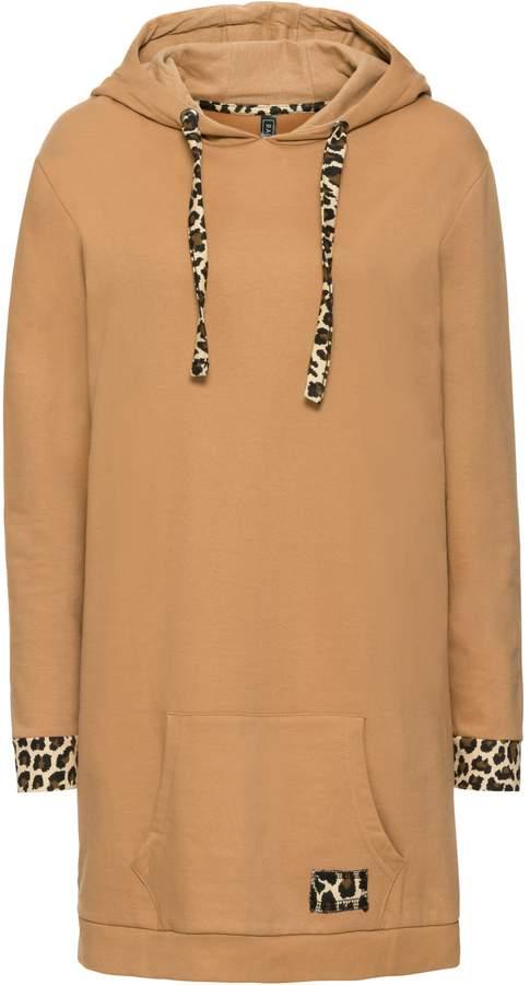 Oversized Sweater mit Kontrast-Akzenten