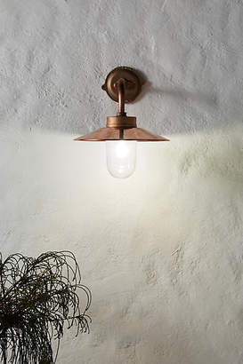 Anthropologie Outdoor Bracket Sconce