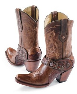 Pendleton Saltillo Golden Harness Boots