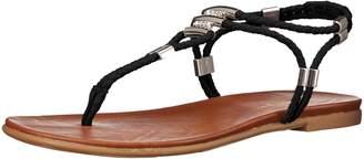 Madden-Girl Women's Flexii Flat Sandal